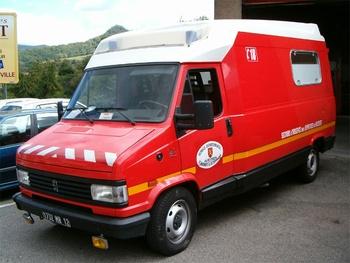 Véhicule de secours et d'assistance aux victimes, Sapeurs-pompiers, Aveyron (12)