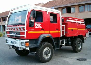 Camion-citerne pour feux de forêts, Sapeurs-pompiers, Tarn-et-Garonne (82)
