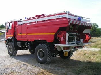 Camion-citerne pour feux de forêts, Sapeurs-pompiers, Ardèche