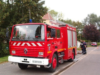Fourgon-pompe tonne, Sapeurs-pompiers, Val-d'Oise (95)