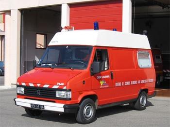 Véhicule de secours et d'assistance aux victimes, Sapeurs-pompiers, Alpes-de-Haute-Provence (04)