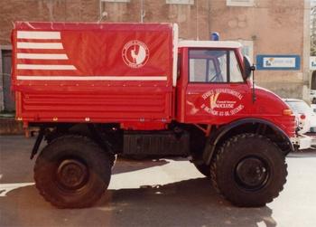 Véhicule de secours en montagne, Sapeurs-pompiers, Vaucluse (84)