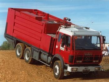 Camion-citerne de grande capacité, Sapeurs-pompiers, Gard