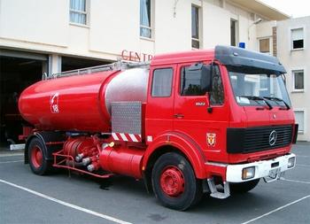 Camion-citerne de grande capacité, Sapeurs-pompiers, Tarn