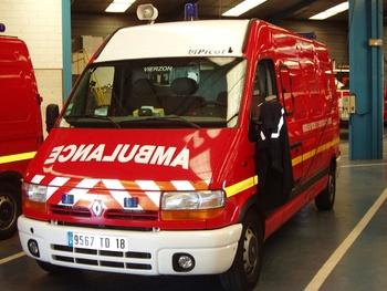 <h2>Véhicule de secours et d'assistance aux victimes - Vierzon - Cher (18)</h2>