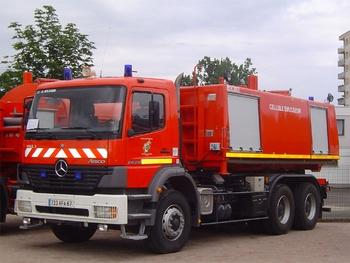 Véhicule porte-cellule, Sapeurs-pompiers, Bas-Rhin (67)
