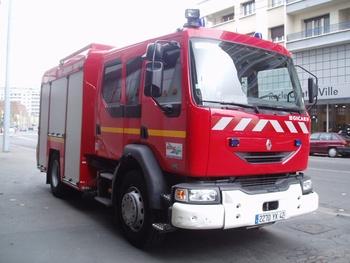 <h2>Fourgon-pompe tonne secours routier - Saint-Etienne - Loire (42)</h2>