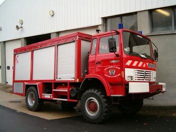 Dévidoir automobile, Sapeurs-pompiers, Haute-Saône