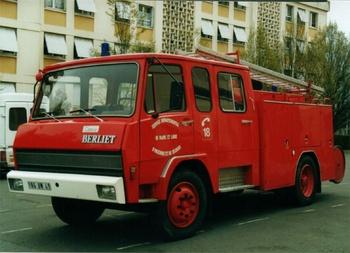 Fourgon-pompe tonne, Sapeurs-pompiers, Maine-et-Loire (49)