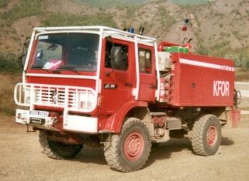 <h2>Camion-citerne pour feux de forêts - Kossovo - Etranger (Etranger)</h2>