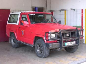 Véhicule de liaison, Sapeurs-pompiers, Gard (30)