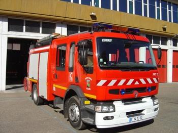 Fourgon-pompe tonne, Sapeurs-pompiers, Allier (03)