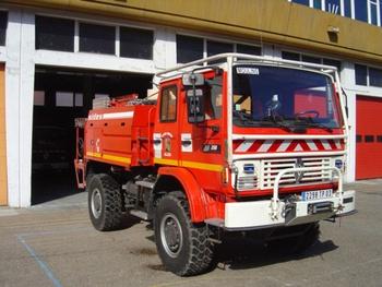 Camion-citerne pour feux de forêts, Sapeurs-pompiers, Allier (03)