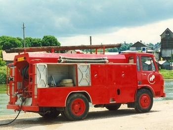 Camion-citerne d'incendie, Service de sécurité incendie, Nièvre (58)