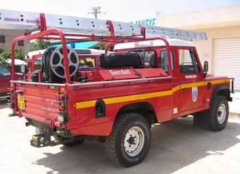 Camion-citerne pour feux de forêts léger, Sapeurs-pompiers, Corse-du-Sud (2A)