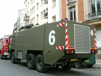 Véhicule pour interventions aéroportuaires, Armée de l'air, Marne (51)