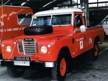 Véhicule pour interventions diverses, Sapeurs-pompiers, Somme (80)