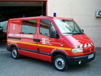 Véhicule pour interventions cynotechniques, Sapeurs-pompiers, Tarn-et-Garonne (82)