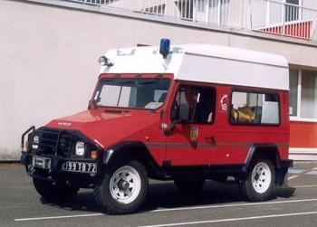 Véhicule pour interventions en milieu périlleux, Sapeurs-pompiers, Sarthe (72)
