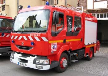 <h2>Fourgon-pompe tonne - Rennes - Ille-et-Vilaine (35)</h2>