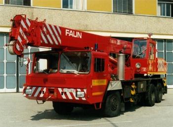 Camion-grue, Sapeurs-pompiers, Bas-Rhin (67)