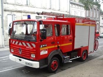 <h2>Véhicule de première intervention - Libourne - Gironde (33)</h2>