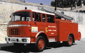 Fourgon-pompe tonne, Sapeurs-pompiers, Gard (30)