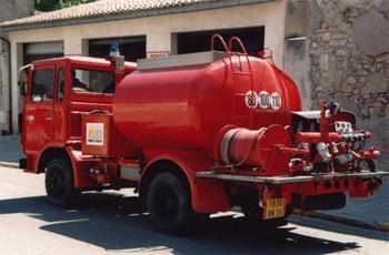 Camion-citerne d'incendie, Sapeurs-pompiers, Gard (30)