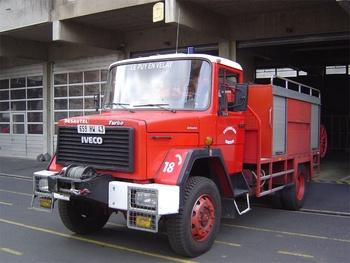 Camion-citerne pour feux de forêts, Sapeurs-pompiers, Haute-Loire (43)
