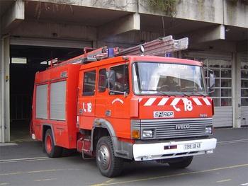 Fourgon-pompe tonne, Sapeurs-pompiers, Haute-Loire (43)