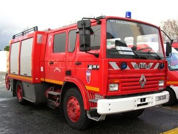 Fourgon-pompe tonne, Sapeurs-pompiers, Manche