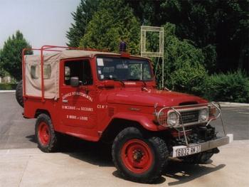 Véhicule de liaison, Sapeurs-pompiers, Indre-et-Loire (37)