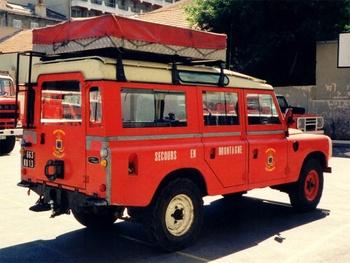 Véhicule de secours en montagne, Marins-pompiers de Marseille, Bouches-du-Rhône (13)