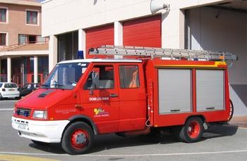 Véhicule de première intervention, Sapeurs-pompiers, Alpes-de-Haute-Provence (04)