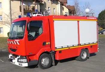 <h2>Véhicule de secours routier - Orthez - Pyrénées-Atlantiques (64)</h2>