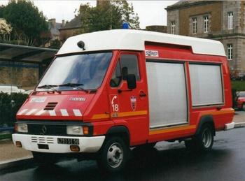 Fourgon électro-ventilateur, Sapeurs-pompiers, Manche (50)