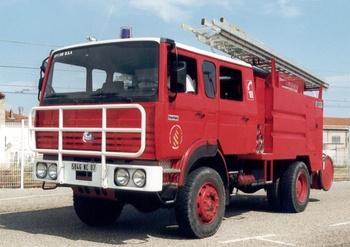 Fourgon-pompe tonne, Sapeurs-pompiers, Ardèche (07)