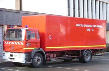 Véhicule de sauvetage déblaiement, Sapeurs-pompiers, Mayenne (53)