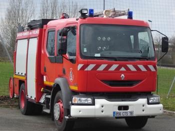 Fourgon-pompe tonne, Sapeurs-pompiers, Yvelines