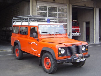 Véhicule de liaison, Sapeurs-pompiers, Haute-Loire (43)