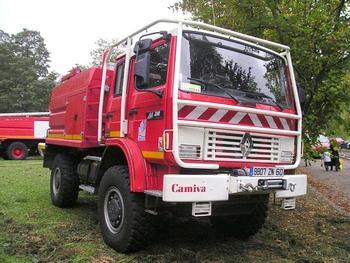<h2>Camion-citerne pour feux de forêts - Chantilly - Oise (60)</h2>