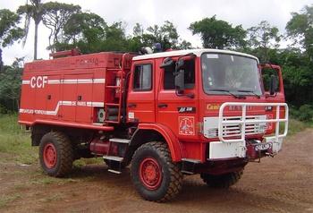 <h2>Camion-citerne pour feux de forêts - Kourou - Guyane (973)</h2>
