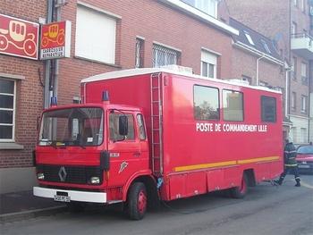 Véhicule poste de commandement, Sapeurs-pompiers, Nord (59)