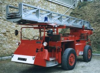 Echelle automatique tout terrain, Sapeurs-pompiers de Paris,  ()
