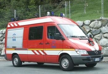 <h2>Véhicule de secours en tunnel - Chamonix - Haute-Savoie (74)</h2>