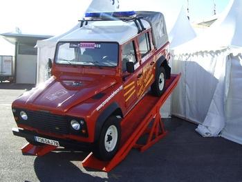 Véhicule d'information du public, Sapeurs-pompiers, Paris (75)