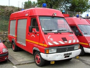 Fourgon électro-ventilateur, Sapeurs-pompiers, Manche