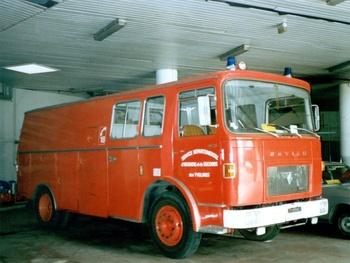 Fourgon-pompe dévidoir de grande puissance, Sapeurs-pompiers, Yvelines (78)