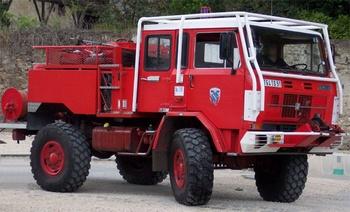 Camion-citerne pour feux de forêts, Sapeurs-pompiers, Essonne