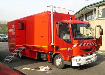 Véhicule poste de commandement, Sapeurs-pompiers, Pyrénées-Atlantiques (64)